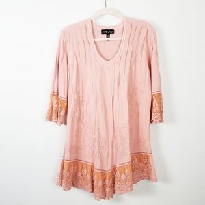 Dresses & Skirts - Gretty Zueger Boho Peasant Dress